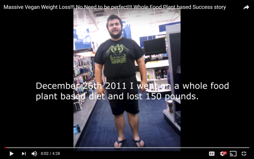 Massive Weight Loss on Whole-Food, Plant Based Diet!
