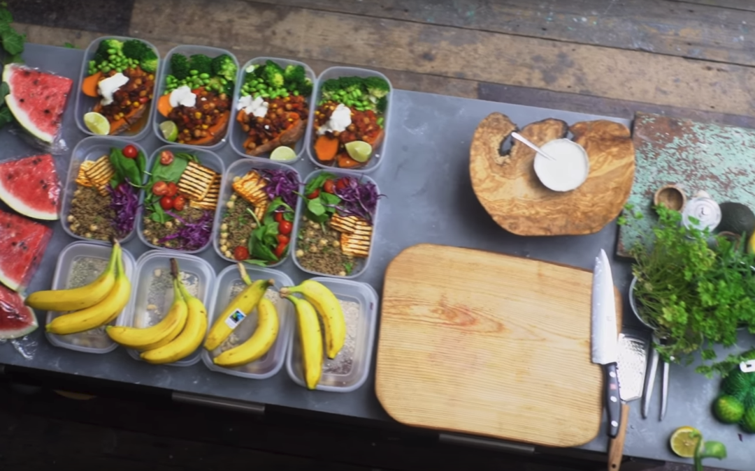 Gaz Oakley Vegan 4 Day Meal Prep!