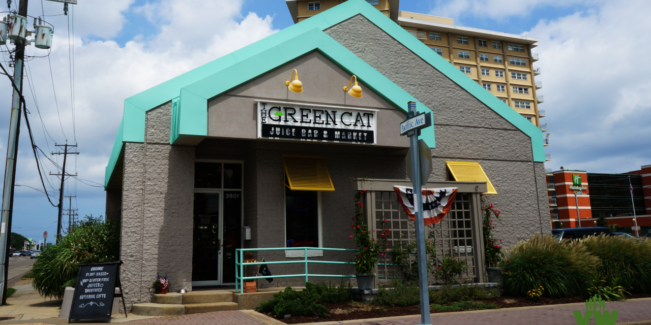 The Green Cat Juice Bar and Market is Plant Based and Very Hip!