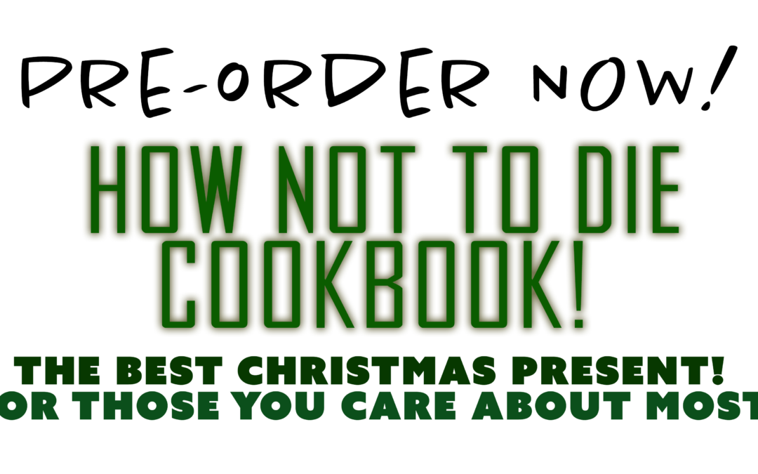 "Order This Cookbook That Will Save Lives! ""How Not To Die Cookbook"""