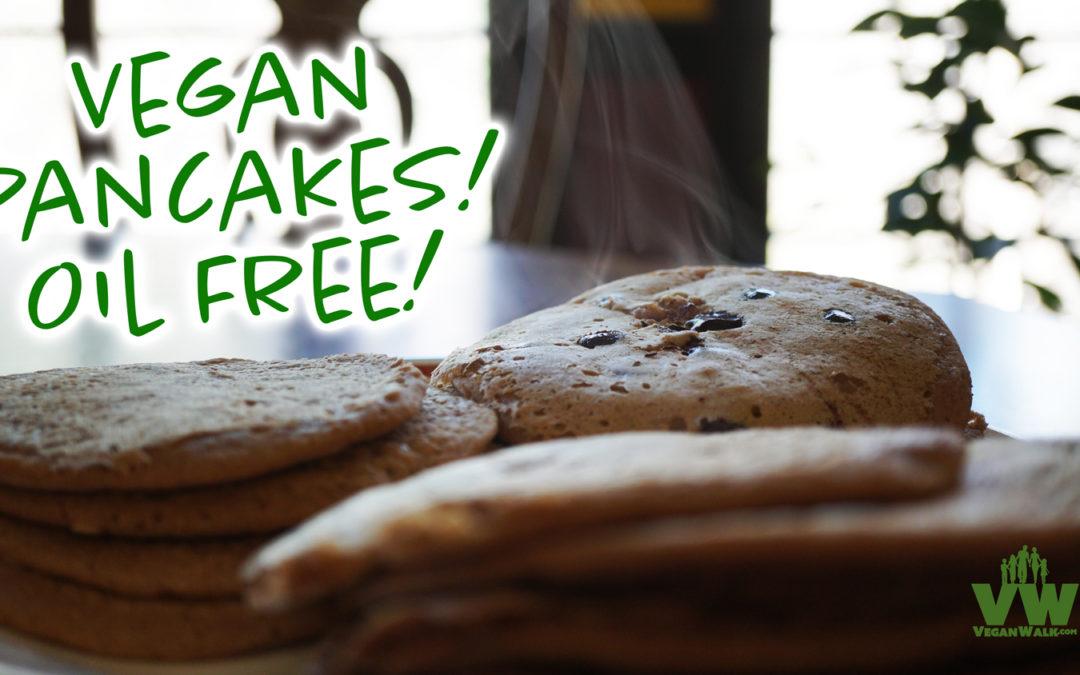 Oil Free, Vegan Pancakes: Recipe by Jeff Morgan
