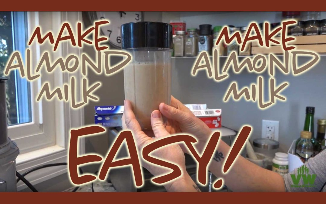 Make Almond Milk Easy!