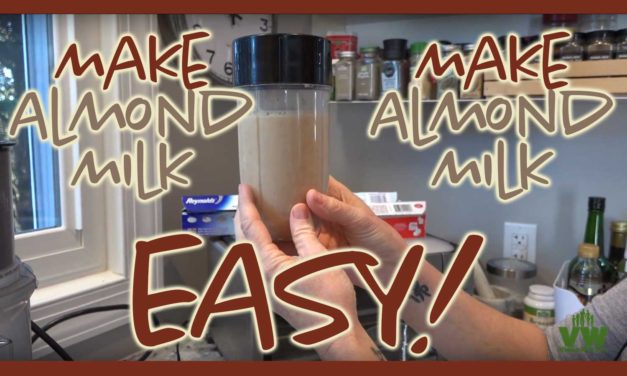 Make Almond Milk Easy!