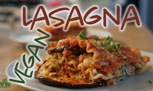 Roasted Vegan Lasagna: so good and no oil or salt!