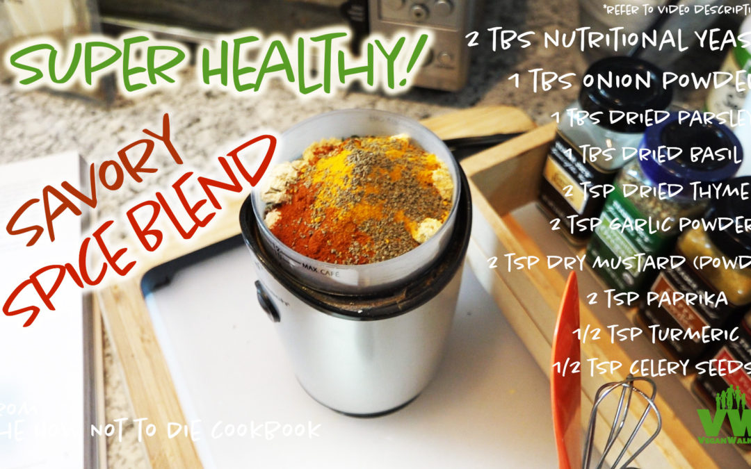 Savory Spice Blend from The How Not to Die Cookbook
